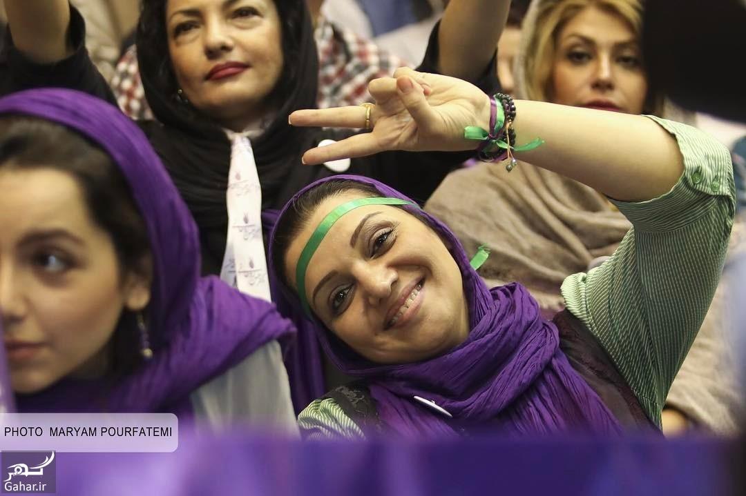 374627 Gahar ir عکس/ حضور بازیگران در همایش حامیان روحانی