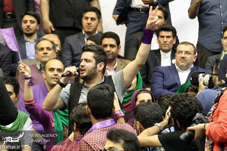 422284 Gahar ir عکس/ حضور بازیگران در همایش حامیان روحانی