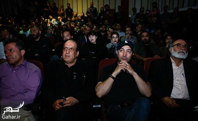 434515 Gahar ir عکسهای بازیگران در مراسم چهلم عارف لرستانی