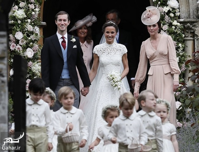 488011 Gahar ir عکس های مراسم عروسی پیپا میدلتون و جیمز متیوز