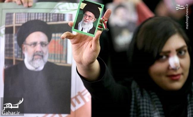 493760 Gahar ir عکس های همایش حامیان رئیسی در مصلی تهران