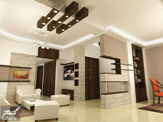 513864 Gahar ir مدلهای جدید و خاص سقف کناف (25 مدل سقف کاذب کناف)