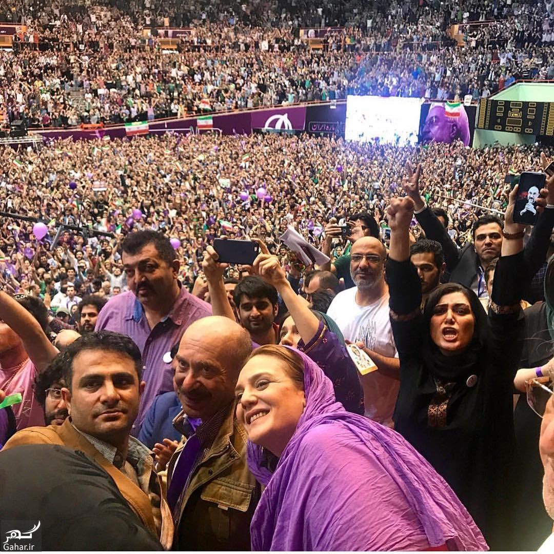 528184 Gahar ir عکس/ حضور بازیگران در همایش حامیان روحانی