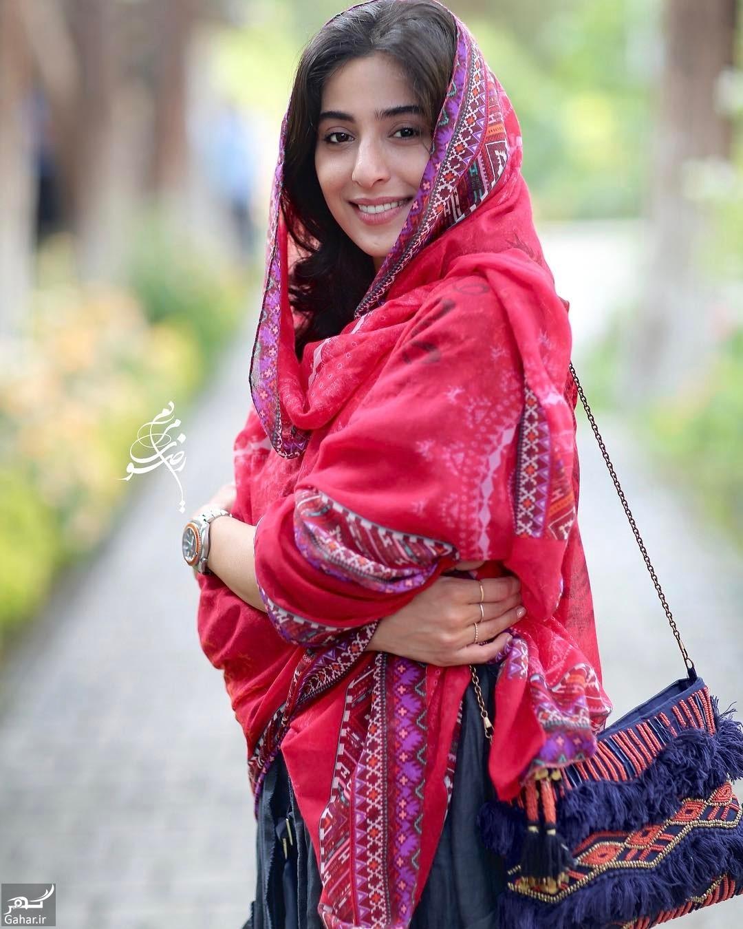 553389 Gahar ir عکس های آناهیتا افشار با لباس هندی در مراسم رونمایی از پوستر «ویلایی ها»