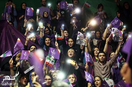 555733 Gahar ir عکس های همایش زنان و دختران حامی روحانی در تهران