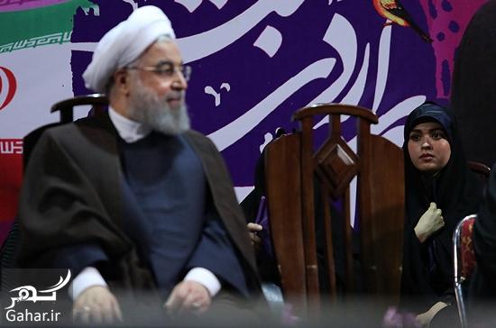 556510 Gahar ir عکس های همایش زنان و دختران حامی روحانی در تهران