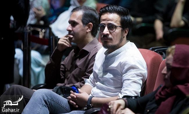 563183 Gahar ir عکسهای بازیگران در مراسم چهلم عارف لرستانی