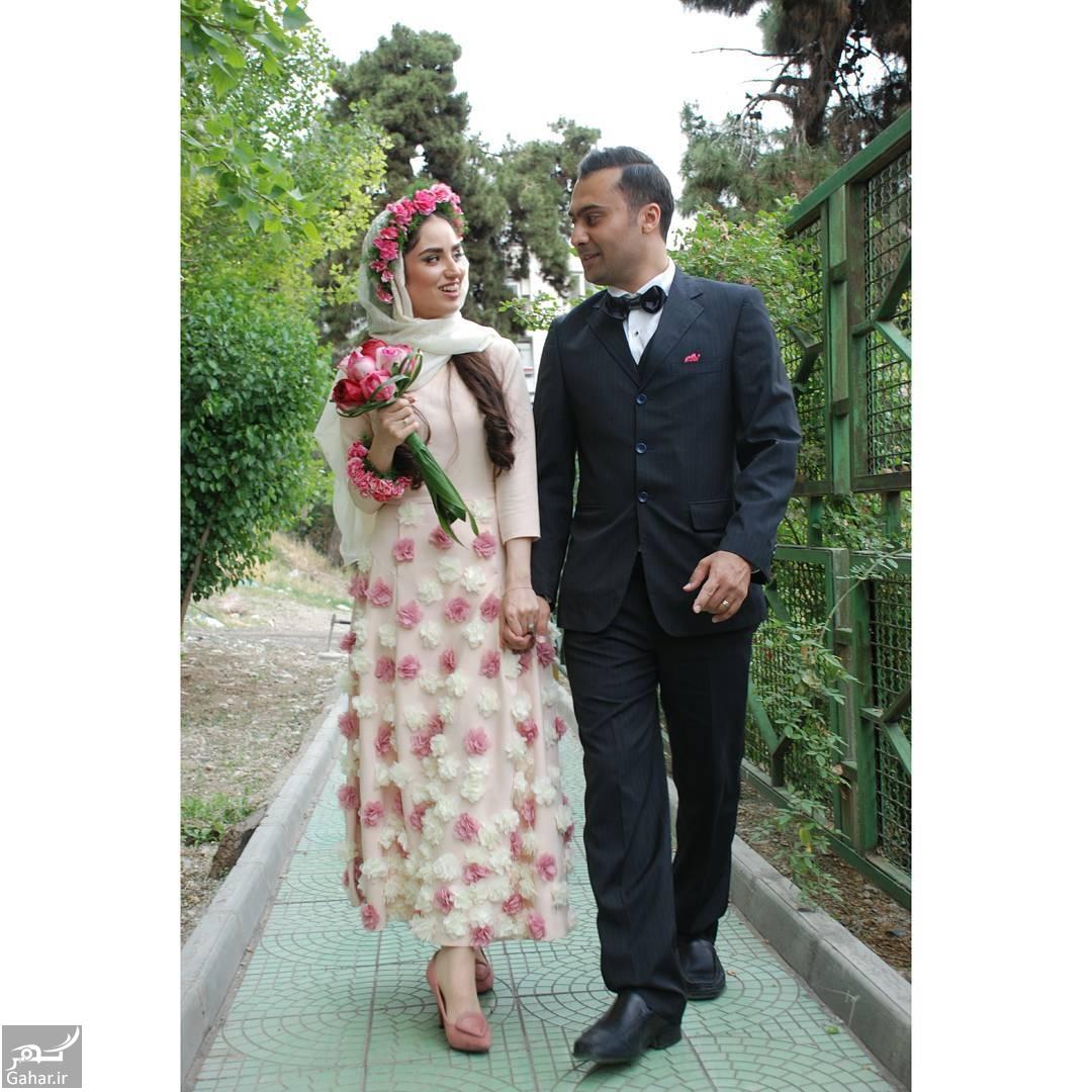 601977 Gahar ir هانیه غلامی ازدواج کرد + عکس هانیه غلامی و همسرش