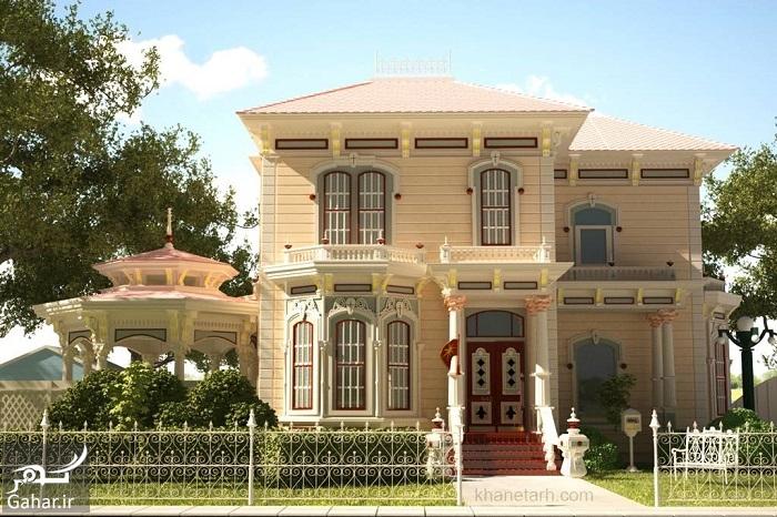605889 Gahar ir عکسهای زیبا از نمای خانه یک طبقه لوکس