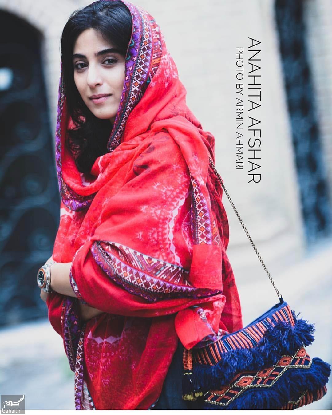 650494 Gahar ir عکس های آناهیتا افشار با لباس هندی در مراسم رونمایی از پوستر «ویلایی ها»