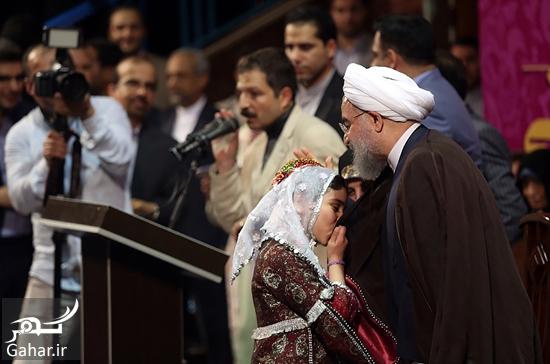 677156 Gahar ir عکس های همایش زنان و دختران حامی روحانی در تهران