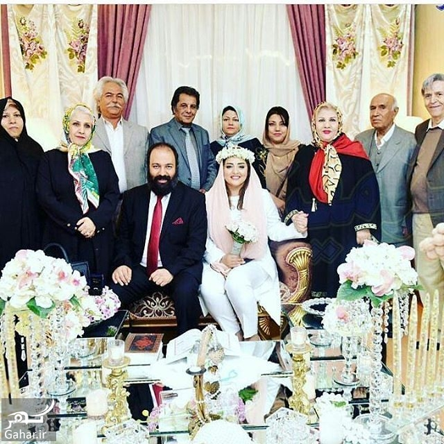 685678 Gahar ir ازدواج نرگس محمدی بازیگر نقش ستایش با علی اوجی ؛ عکس