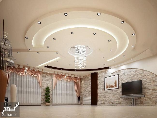 687142 Gahar ir مدلهای جدید و خاص سقف کناف (25 مدل سقف کاذب کناف)