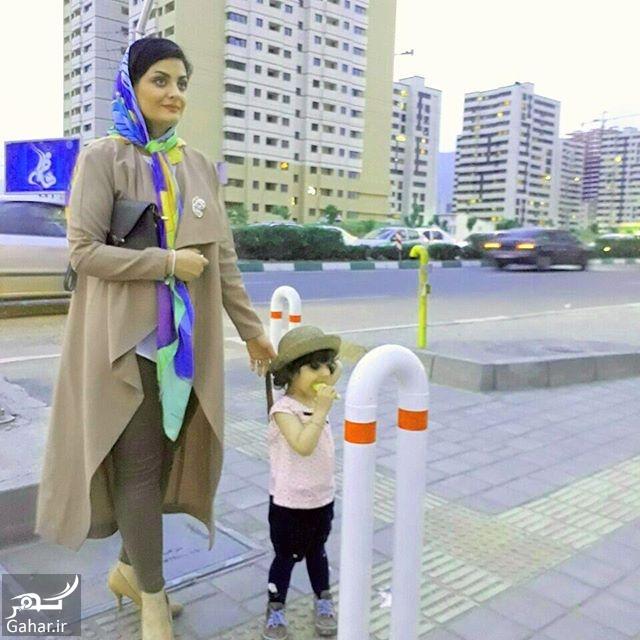 722948 Gahar ir عکس لیلا ایرانی و دخترش با تیپ متفاوت
