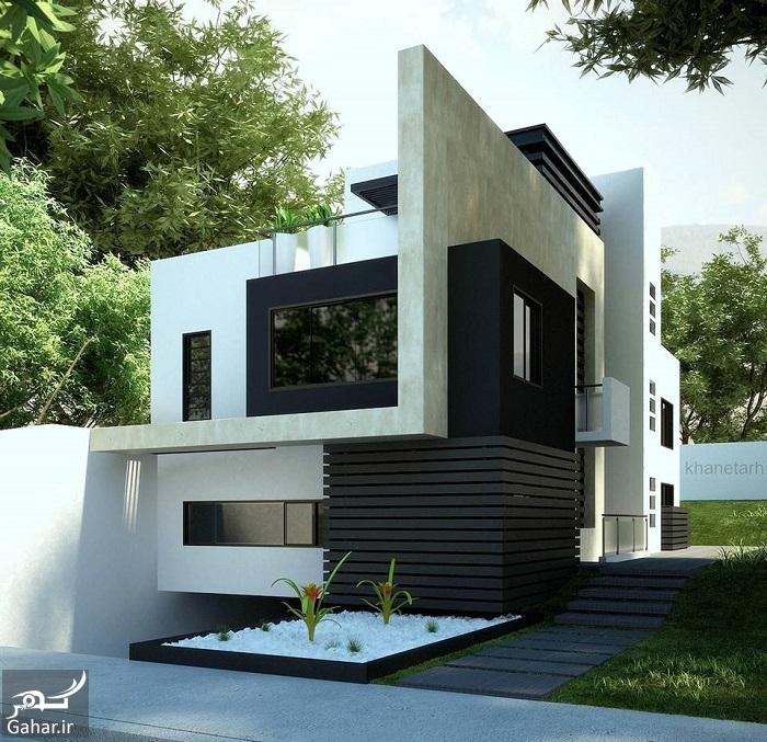 732234 Gahar ir عکسهای زیبا از نمای خانه یک طبقه لوکس