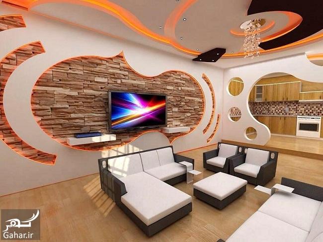 751295 Gahar ir مدلهای جدید و خاص سقف کناف (25 مدل سقف کاذب کناف)