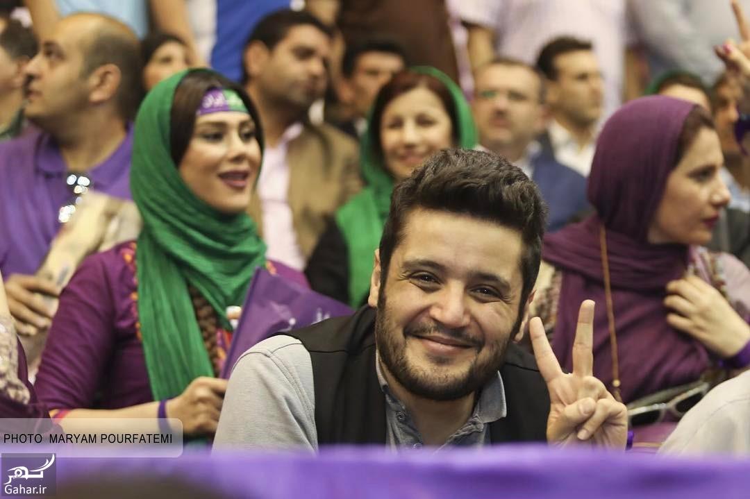 759607 Gahar ir عکس/ حضور بازیگران در همایش حامیان روحانی