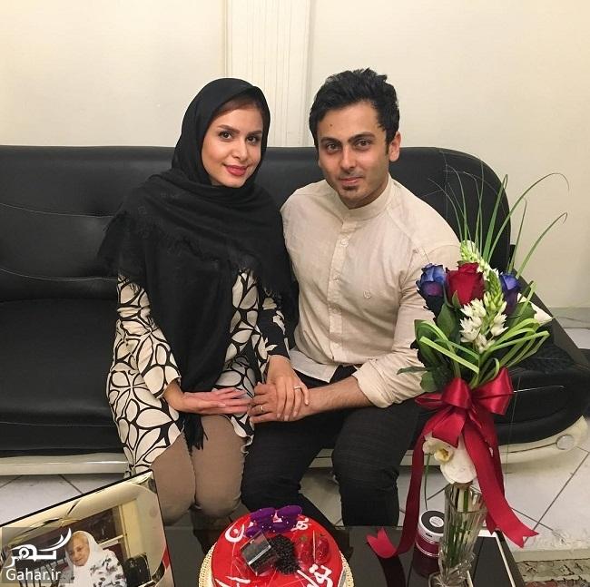 800350 Gahar ir عکس جشن تولد همسر نجمه جودکی مجری تلویزیون