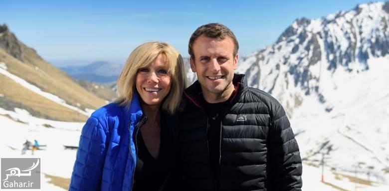 904599 Gahar ir درباره همسر رئیس جمهور جدید فرانسه با 25 سال اختلاف سنی ؛ عکس