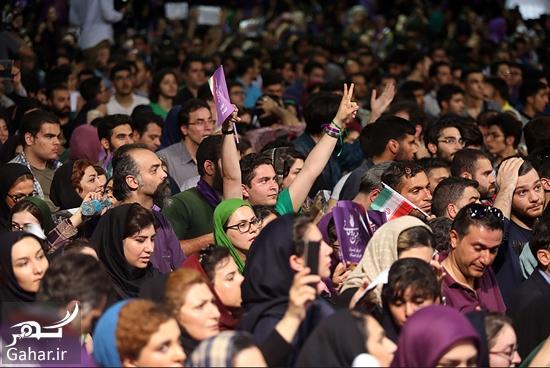 913443 Gahar ir عکس های همایش زنان و دختران حامی روحانی در تهران
