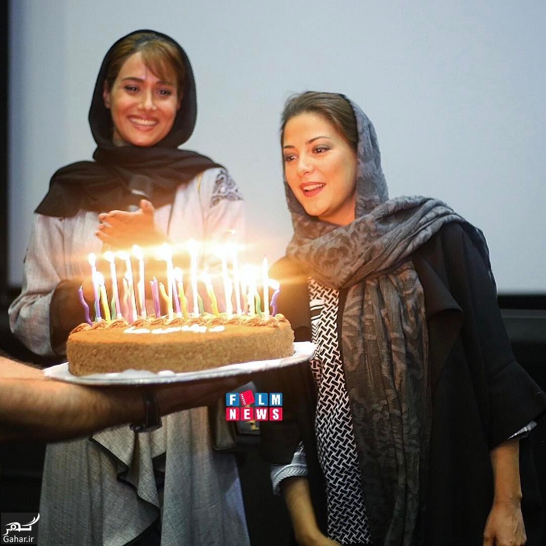 980433 Gahar ir عکس/ جشن تولد طناز طباطبایی همزمان با اولین اکران «ویلایی ها»