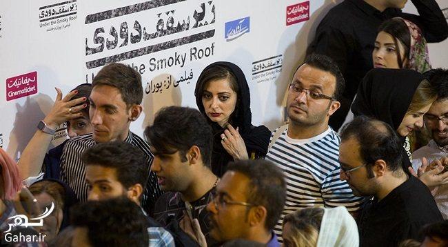 020780 Gahar ir عکس های بازیگران در اکران فیلم زیر سقف دودی