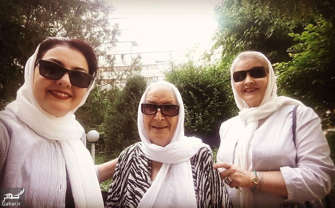 022617 Gahar ir عکس های دیدنی آناهیتا همتی به همراه مادر و مادربزرگش