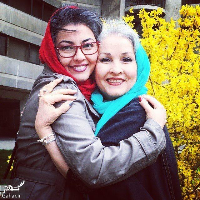 045385 Gahar ir عکس های دیدنی آناهیتا همتی به همراه مادر و مادربزرگش