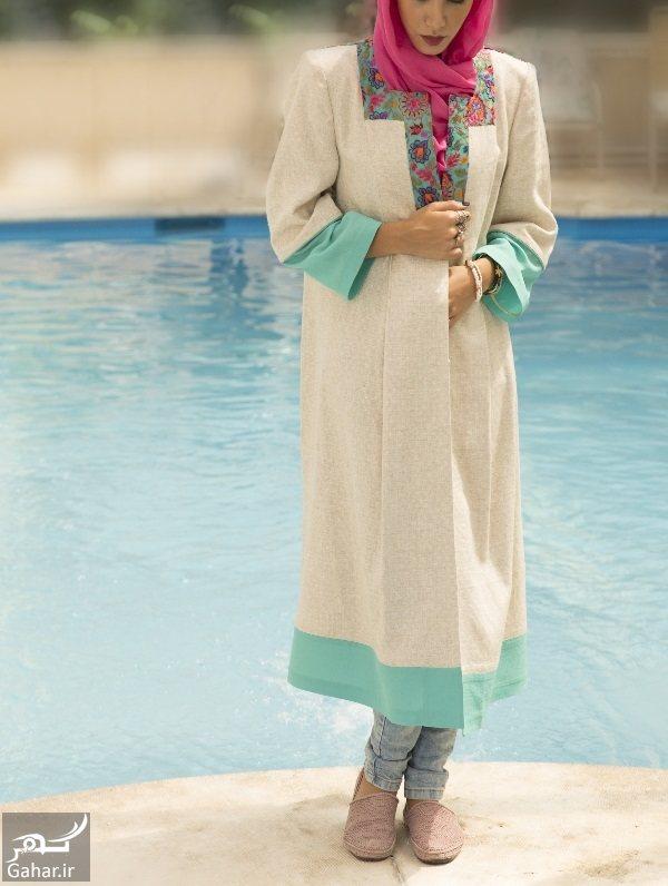 064331 Gahar ir مدل جدید مانتو شیک دخترانه و زنانه تابستان 96
