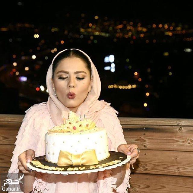 066391 Gahar ir عکس های جشن تولد آزاده زارعی در کنار دختر ناصر حجازی و دوستانش