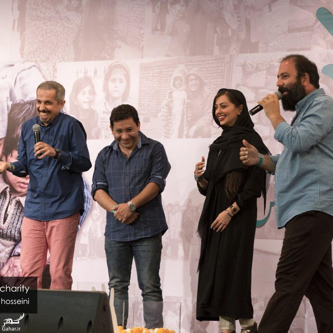 075776 Gahar ir عکس/ حضور جمعی از هنرمندان در مراسم خیریه مهر لیلا بلوکات
