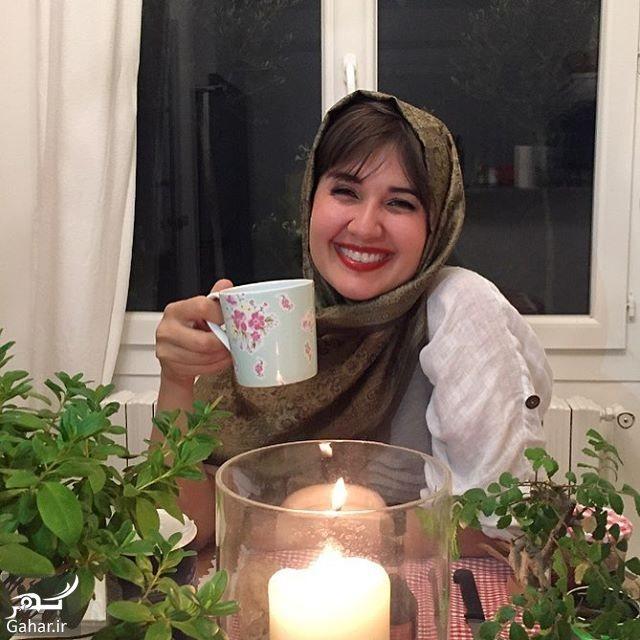 111394 Gahar ir گلوریا هاردی دوستانش را به چالش چای دعوت کرد ؛ عکس