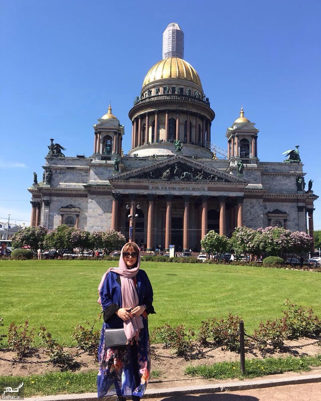 208273 Gahar ir سفر متفاوت لیلا برخورداری به روسیه + عکس های دیدنی