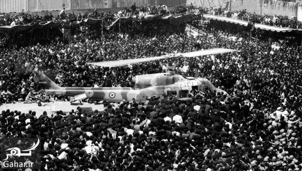 217421 Gahar ir عکس های تاریخی از مراسم تشییع امام (ره)