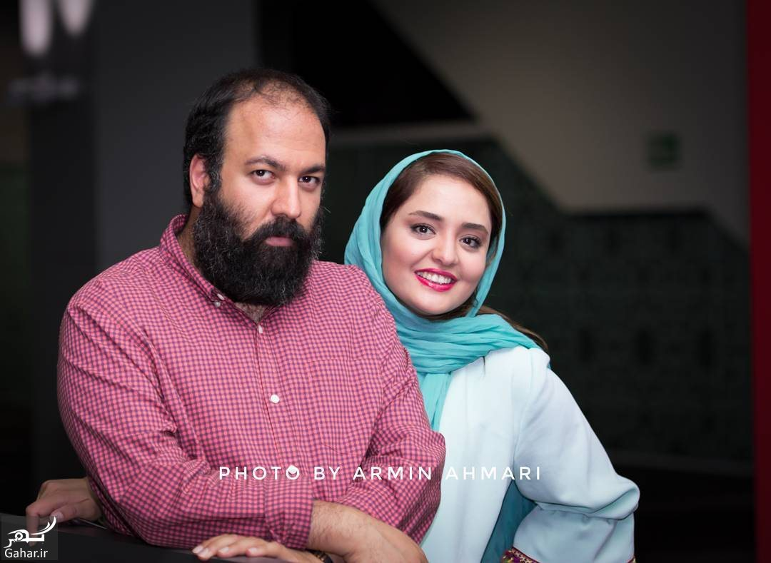 252535 Gahar ir عکس های متفاوت نرگس محمدی و همسرش در اکران مردمی فیلم اکسیدان