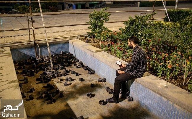 303233 Gahar ir عکس های شب قدر و مراسم احیا شب بیست و یکم در مصلی امام
