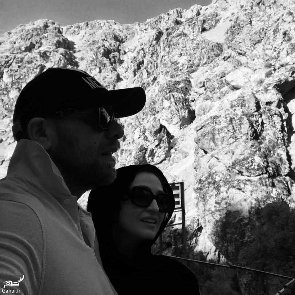 446668 Gahar ir عکس/ کوهنوردی متفاوت گلاره عباسی و همسرش