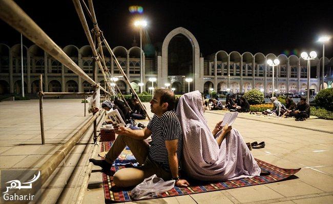 567385 Gahar ir عکس های شب قدر و مراسم احیا شب بیست و یکم در مصلی امام