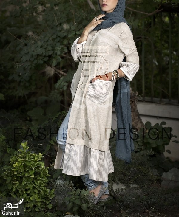 632140 Gahar ir مدل جدید مانتو شیک دخترانه و زنانه تابستان 96