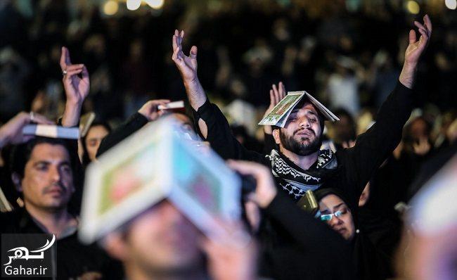684416 Gahar ir عکس های شب قدر و مراسم احیا شب بیست و یکم در مصلی امام