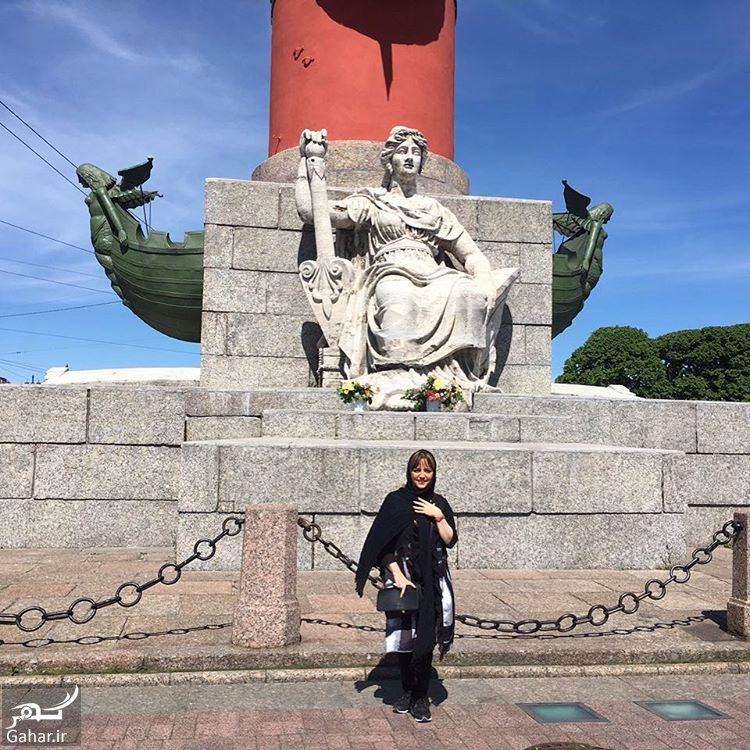 749561 Gahar ir سفر متفاوت لیلا برخورداری به روسیه + عکس های دیدنی