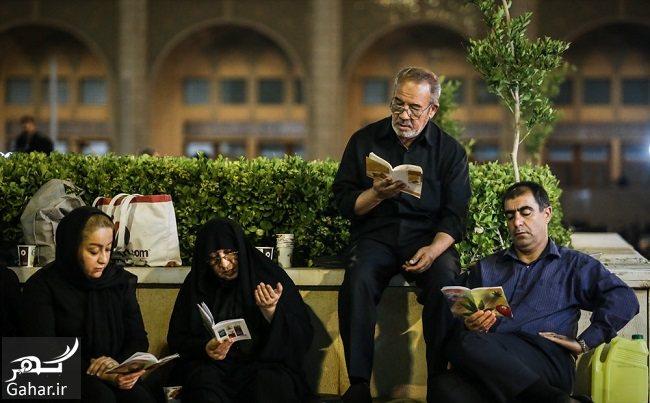751830 Gahar ir عکس های شب قدر و مراسم احیا شب بیست و یکم در مصلی امام