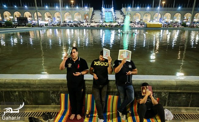 759232 Gahar ir عکس های شب قدر و مراسم احیا شب بیست و یکم در مصلی امام