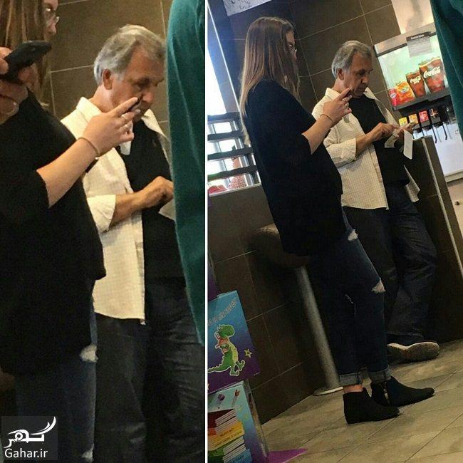 765545 Gahar ir محمود خاوری در کانادا با چهره متفاوت دیده شد ؛ عکس
