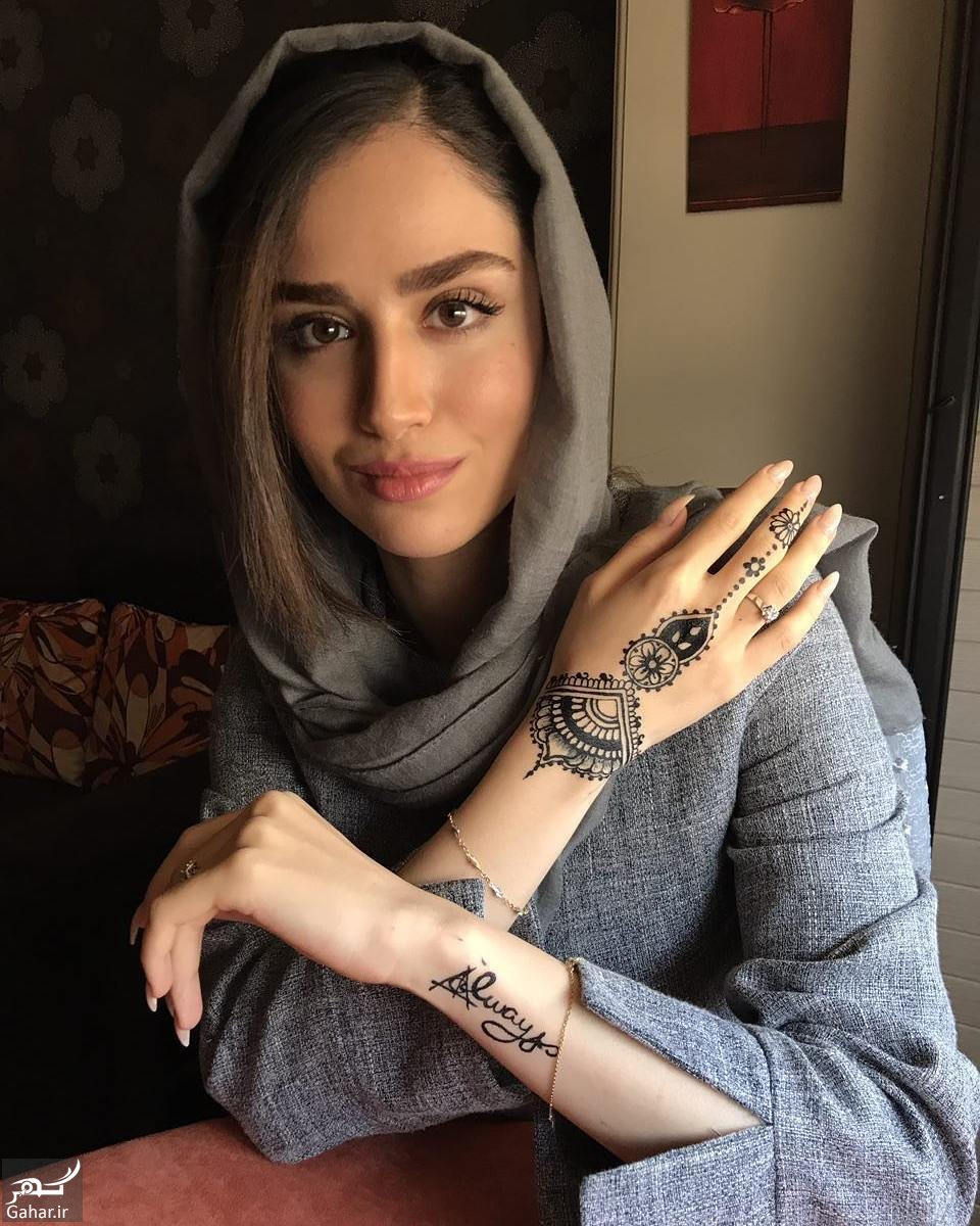814386 Gahar ir عکس/ نقش حنا روی دستان هانیه غلامی
