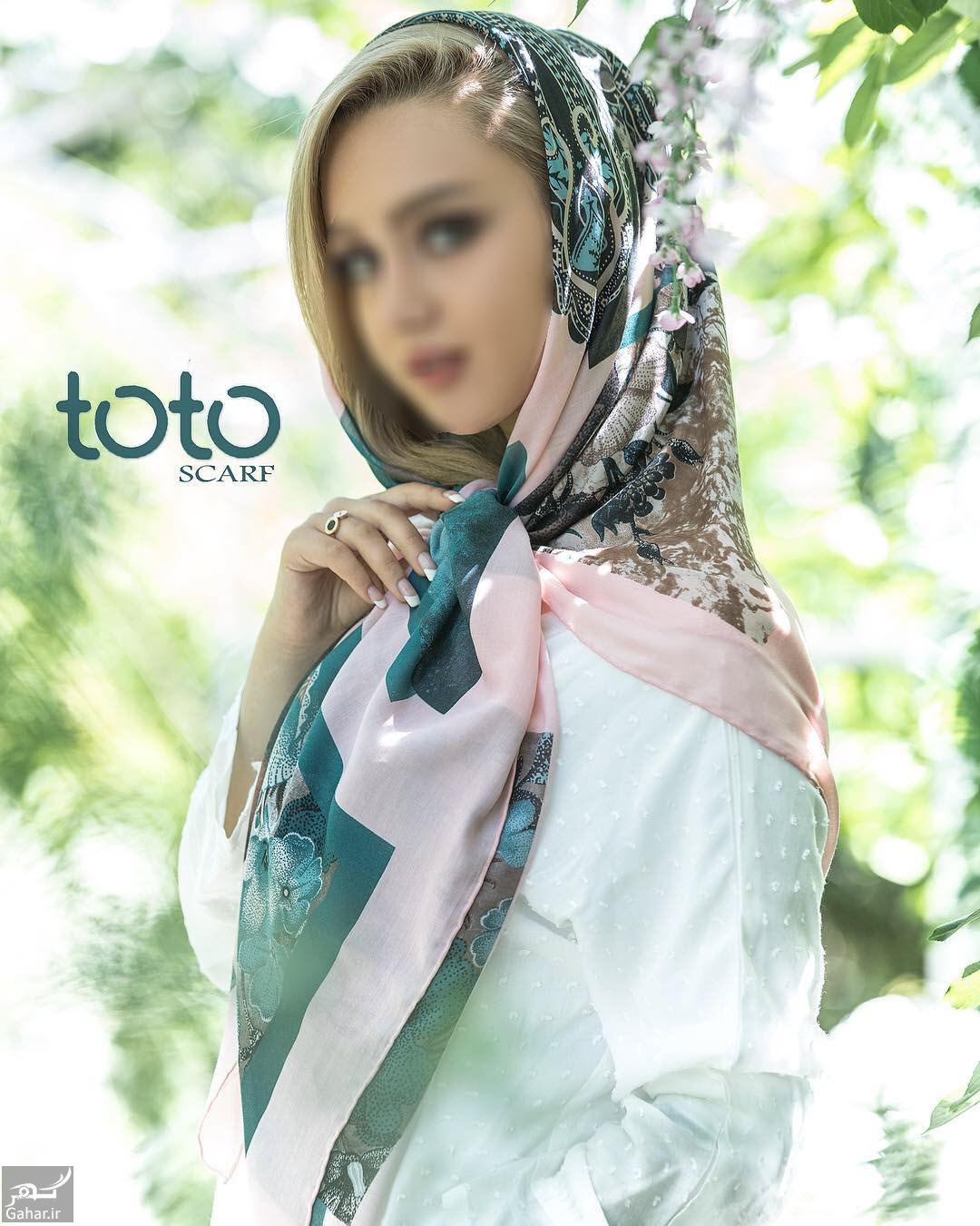 091754 Gahar ir جدیدترین مدل های شال و روسری از برند ایرانی توتو