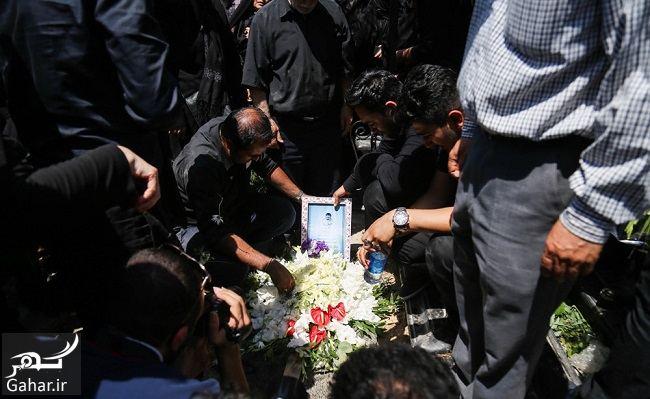 099582 Gahar ir عکس های غم انگیز مراسم تشییع بنیتا 8 ماهه