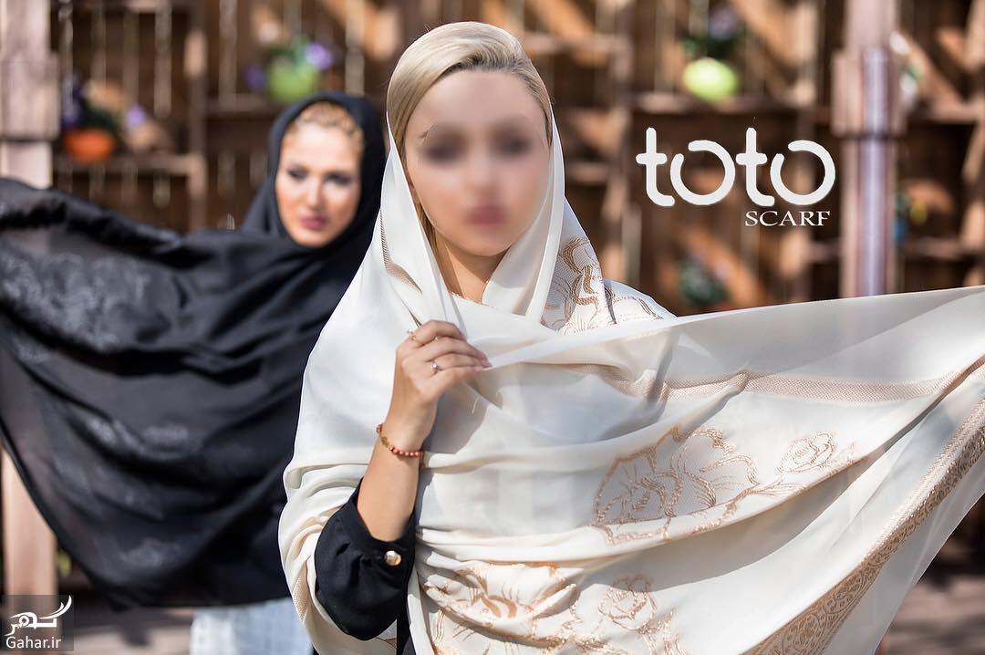171385 Gahar ir جدیدترین مدل های شال و روسری از برند ایرانی توتو