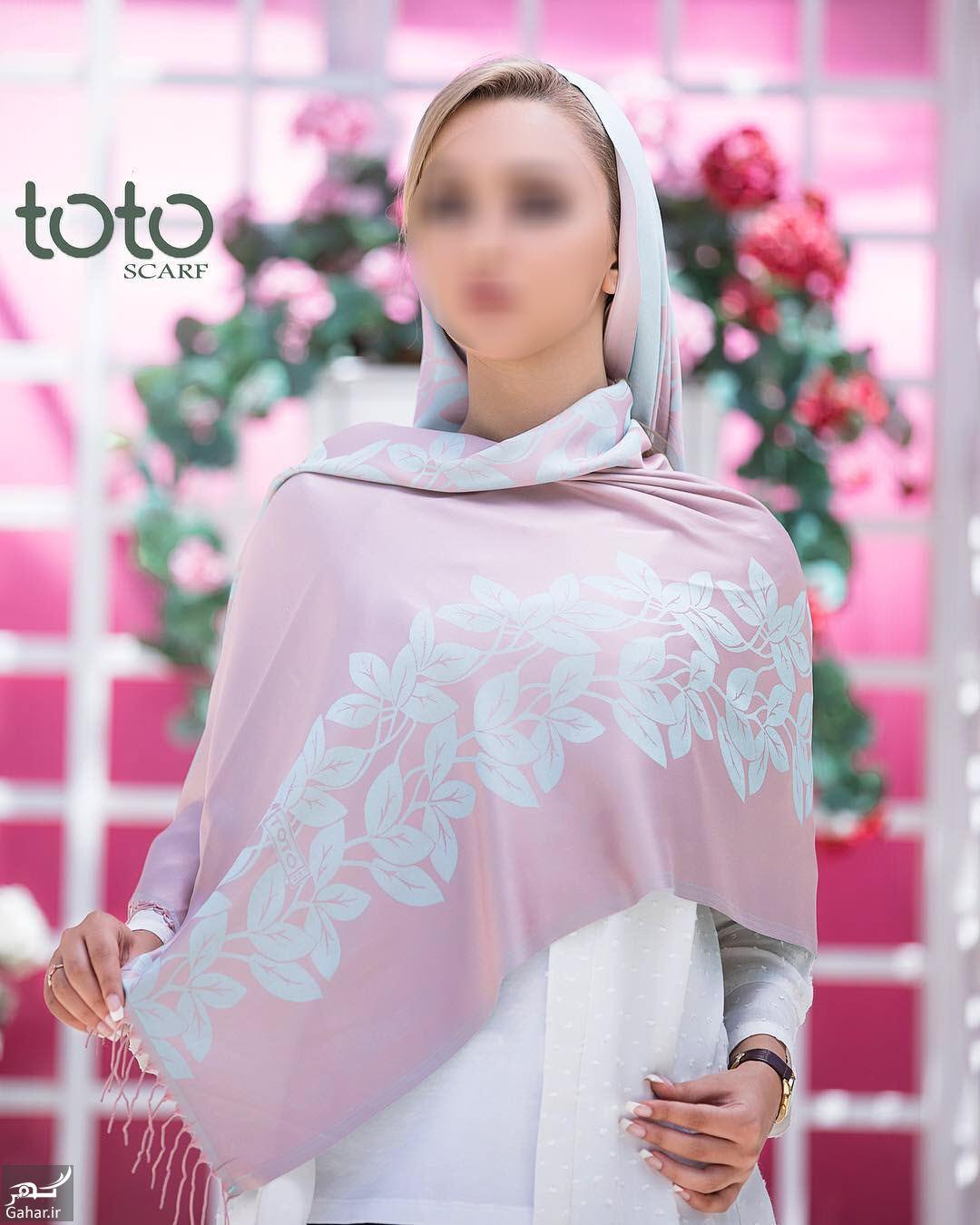 273282 Gahar ir جدیدترین مدل های شال و روسری از برند ایرانی توتو