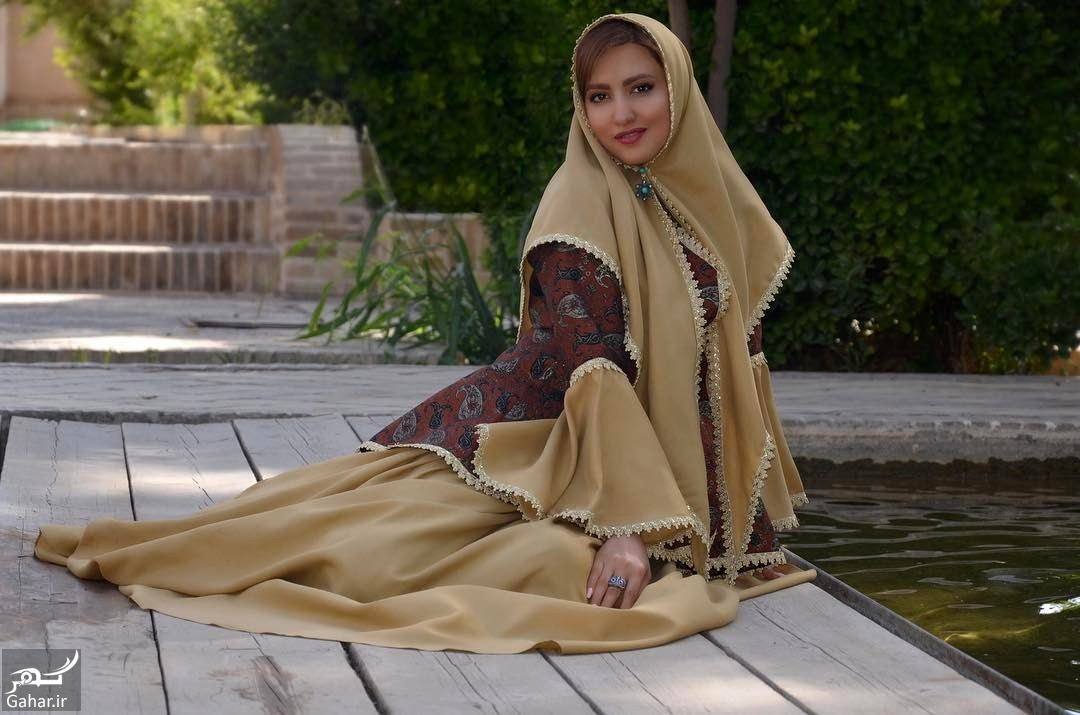 622185 Gahar ir عکس جدید سمیرا حسینی با لباس سنتی